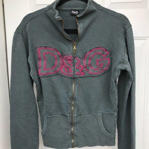 Dolce & Gabbana ZIP Sweatshirt Hoodie